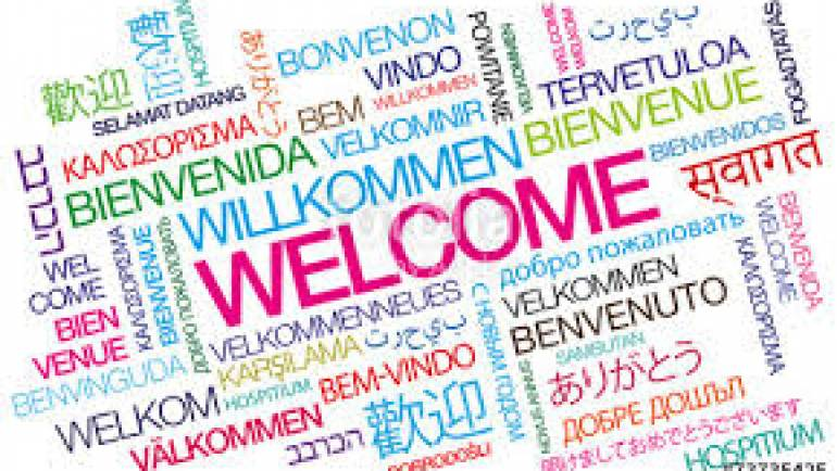 Hello, Welcome, Velkommen, Bienvenue, G'day…