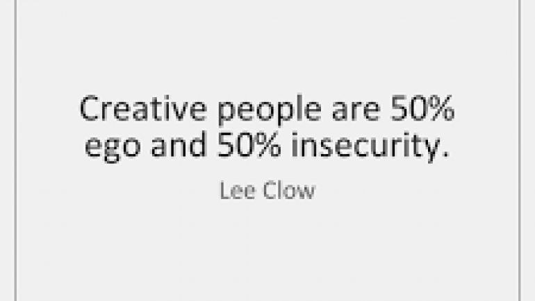 Creative insecurity is normal! Encouraging kids should be too!